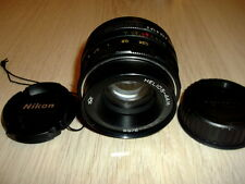 KMZ.HELIOS 44M 2/58 mm f/2 RUSSIAN USSR LENS M42 NIKON INFINITY IS ! KING BOKEH
