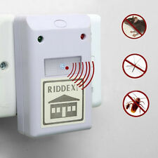 220V Electronic Riddex Plus Pest Rodent JMHG Control Applied Repeller EU plug