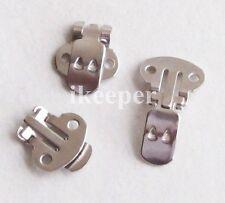 20pcs Blank Metal Shoe Clips (1.3*1.4CM) Shoe Decoration DIY