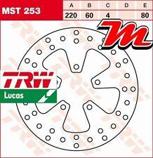 Disque de frein Arrière TRW Lucas MST 253 pour Derbi 125 Rambla RA 2008-