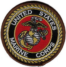 "Lot of 10 US MARINE CORPS USMC Embroidered Patches 3"" Diameter"