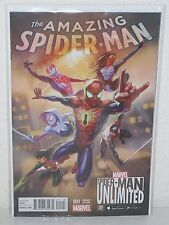 AMAZING SPIDER-MAN #1 - Video Game Variant - UNLIMITED - Slott CAMUNCOLI  Marvel