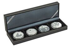 Lindner 2362-4 NERA Coin case S with 4 rectangular compartments for coins