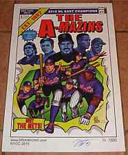 NY METS GIANT SIZED X-MEN 1 LIMITED EDITION PRINT SIGNED # BRIAN KONG EXCLUSIVE