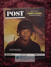 Saturday Evening POST June 29-July 6 1963 LATIN AMERICA +++