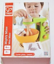 Hape - Playfully Delicious - Mighty Mixer Wooden Play Kitchen Set Age3+