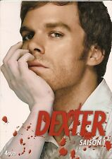 COFFRET 4 DVD ZONE 2--SERIE TV--DEXTER--INTEGRALE SAISON 1--12 EPISODES