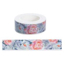 1pcs 15mmx10m Rose flower Washi Tape DIY Scrapbooking Sticker Masking Tape!