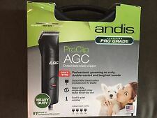 Andis AGC Pro Clip - Heavy Duty Clipper - #22545 w/#10 UltraEdge Blade Brand New