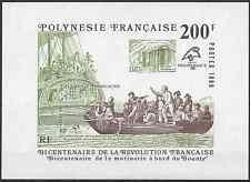 POLYNÉSIE FRANÇAISE BLOC N°15 - NEUF ** AVEC GOMME D'ORIGINE - COTE 17€