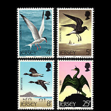 Jersey 1975 - Seabirds Bids Fauna Animals - Sc 129/32 MNH