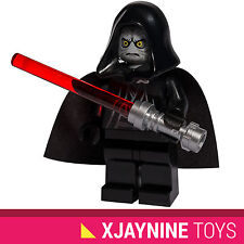 LEGO STAR CLONE WARS Emperor Palpatine Minifig Sith Lord + Lightsaber NEW RARE