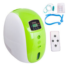 1×Portable 1-5L/min Full Intelligent 90% Oxygen Concentrator Generator Home Use