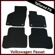 Volkswagen Passat CC 2008 onwards Tailored Fitted Carpet Car Mats BLACK