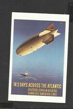 Nostalgia Postcard The  Airship -Zeppelin