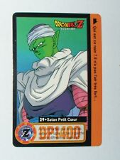 CARTE CARD CARDDASS  DRAGON BALL Z  BANDAI 1995 MADE IN ESPAGNE N° 29