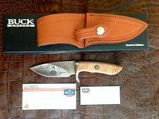 Buck Custom 923 Skinner Knife Davy Crockett Etch Limited NIB