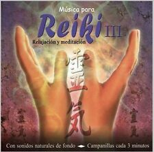 MUSIC FOR REIKI VOL. 3 SEALED CD NEW FOR RELAXATION AND MEDITATION