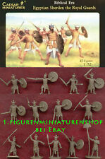 1:72 FIGUREN H050 EGYPTIAN SHERDEN ROYAL GUARD - CAESAR