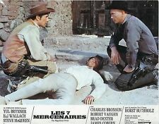 YUL BRYNNER THE MAGNIFICENT SEVEN  1960 VINTAGE LOBBY CARD #3
