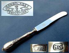 Massives Messer, Russland, Baltikum, Rokoko, 875er Silber, um 1920 F562