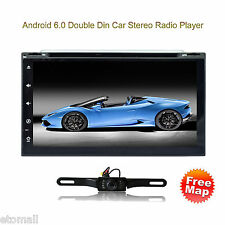 "7"" Android 6.0 Car Stereo Radio 2 Din GPS WiFi 3G Mirror OBD BT Link DVD Player"