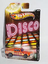 Hot Wheels 2013 Jukebox Series #18 DISCO '70 Chevellle SS Orange w/ MC5s