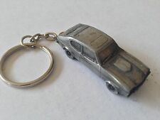 Ford Capri Mk2  ref73 3D split-ring keyring FULL CAR