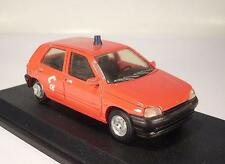 Paradcar 1/43 resin renault 5 bomberos-Pompiers-Fire Engine OVP #164
