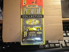 Matchbox World Class Series 5 Premiere Collection Yellow Corvette Stingray III