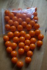 25 x Orange paintballs, ammo for Pocket Shot & similar catapults & slingshots