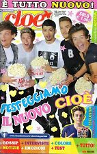 Cioè.One Direction,Josh Hutcherson,Giulia Luzi,Davide Merlini,Alessandro Casillo