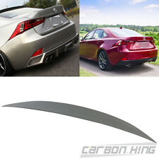 Painted For LEUXS IS250 IS350 4DR Sport High Kick Performance Trunk Spoiler 2017