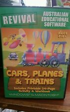 Cars Planes & Trains (BRAND NEW AND SEALED) PC GAME - FREE POST