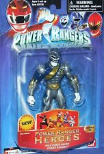 "Power Rangers Wild Force Series 14 Heroes Lunar Wolf NEW 5"" Factory Sealed 2006"