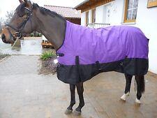 *1200 D.WINTEROUTDOORDECKE 400 Gramm HIGHNECK*165 cm Purple/Lila-Schwarz
