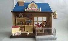 Sylvanian Families Toy Shop With Miniature Houses Store INCOMPLETE Spares Doll