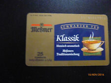 O-1683 from 1995, meßmer tea,. 1000, used