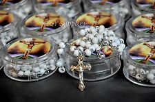 12 PCS Cross Jesus Crucifix Prayer Rosary Rosario Catholic Christian Gifts
