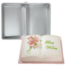 "Wilton Book Cake Pan, Two Mix 15"" x 11 1/2"" x 2 3/4"" Deep"