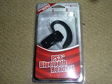 PLAYSTATION 3 ps3 senza fili Bluetooth Headset Microfono + CARICABATTERIE USB nuovo di zecca!
