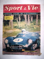 SPORT & VIE SPECIAL SALON DE L'AUTOMOBILE 1959 / ASTON MARTIN STIRLING MOSS