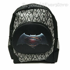 NEW DC Batman v Superman Movie Large 16' Molded Hero Logo Backpack for Kids
