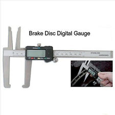Digital Micrometer Disc Brake Gauge Rotor Drum SAE Metric Hardened w/ Case