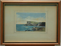 Original Painting FAIRHEAD, Co. ANTRIM, N. IRELAND by Irish Artist EI BRYCE