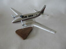Beech Queen Air B80 Airplane Desktop Wood Model