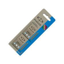 Parker Quink Mini Ink Cartridges Blue 12 Pack S0881680