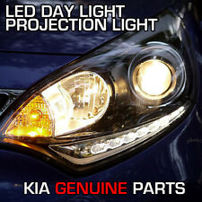 DRL LED Day Light Projection Head Lamp 2EA For KIA RIO 5Door Hatchback 2012 2016