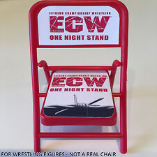 WWE ELITE WRESTLING FIGURE CHAIR ACCESSORY - ECW ONE NIGHT STAND - HEYMAN WEAPON