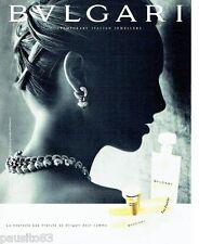 PUBLICITE ADVERTISING  116  1997   eau fraiche parfum pour femme         Bulgari